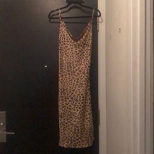 Bardot Leopard print dress size XS